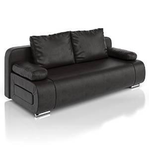 schlafsofa leder 2018 neu jetzt vergleich ansehen. Black Bedroom Furniture Sets. Home Design Ideas